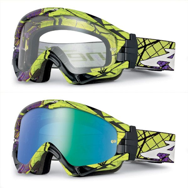 Arnette Series 3 Off-Road MX Goggles - Fragment Purple/Green/Black