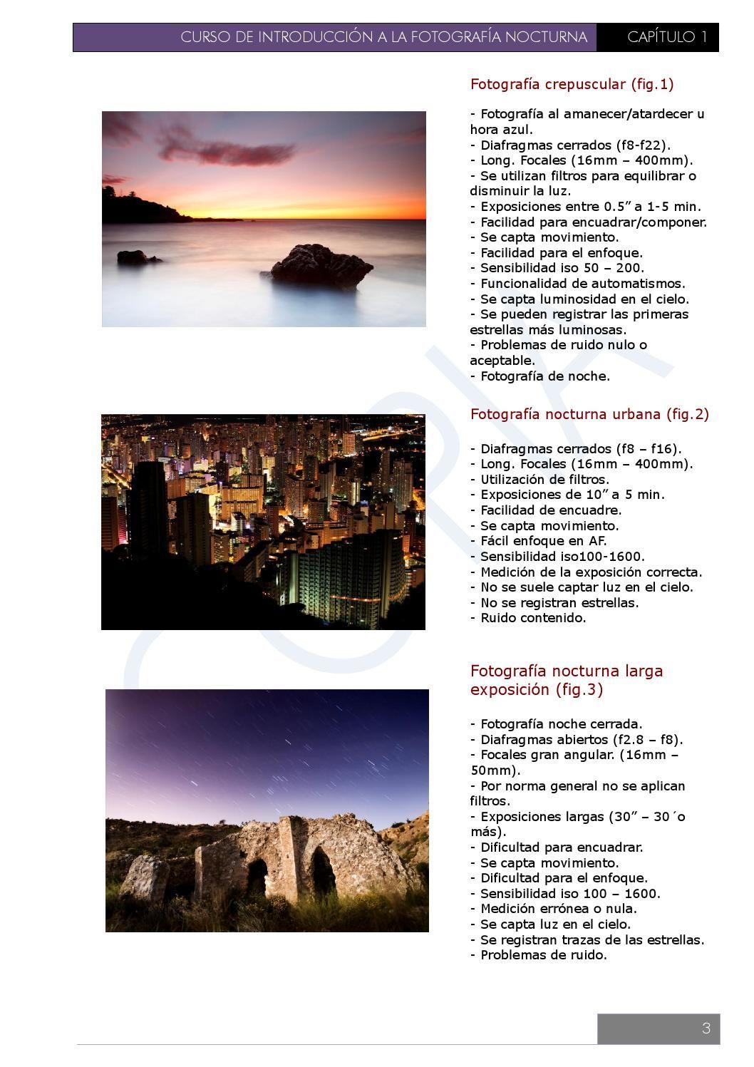 Introduccion a la fotografia nocturna | Fotografía