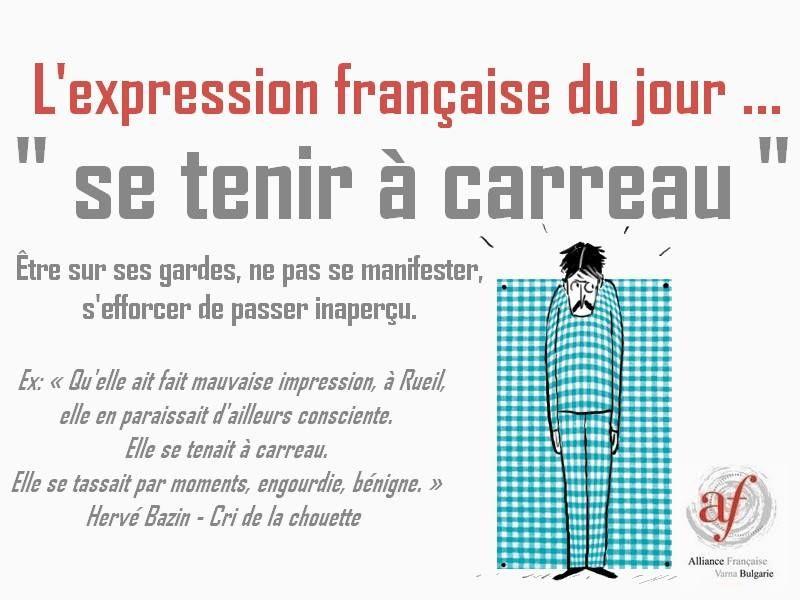 Αποτέλεσμα εικόνας για Se tenir à carreaux