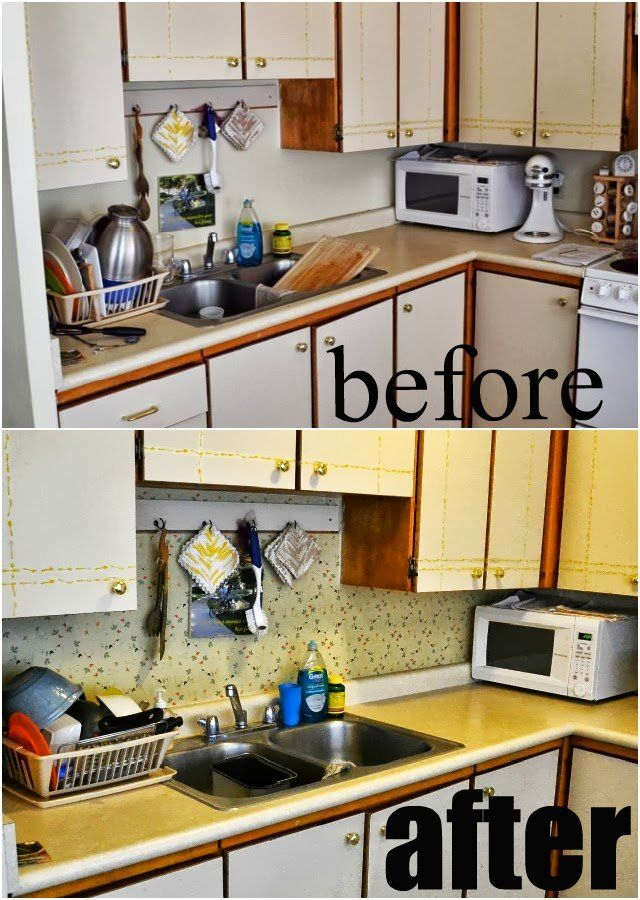 contact paper as temporary back splash and contact paper giveaway rh pinterest com
