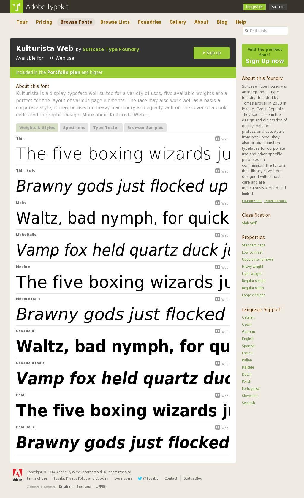 Https Typekit Com Fonts Kulturista Web Blog Help Typeface Type