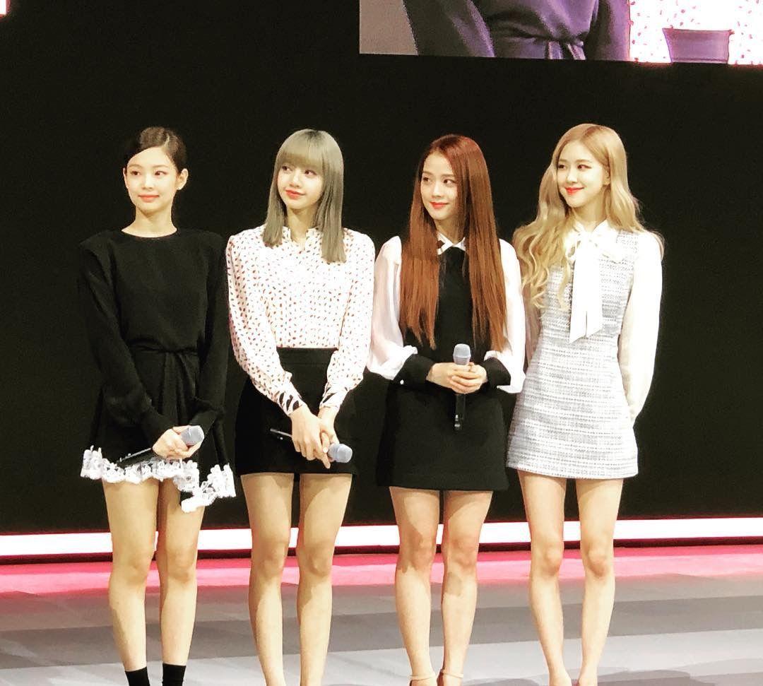 Pin By Lalisa Manoban On Blackpink Black Pink Kpop Girls Long Sleeve Dress