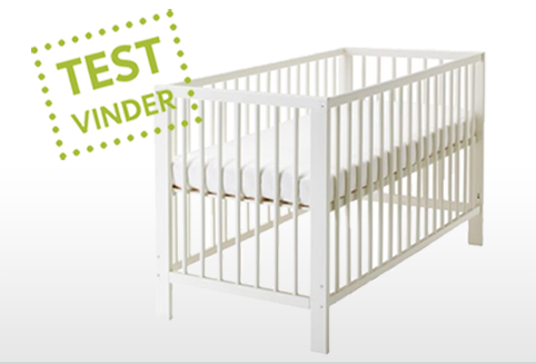 Klassisk Enkel Tremmeseng Ikea Baby Cribs Babysenge