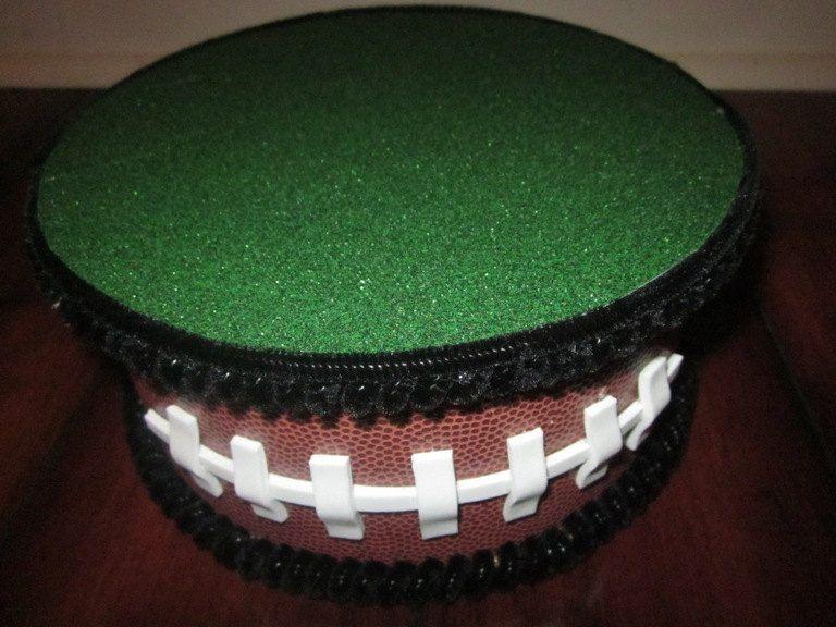 Cake Decorating Football Theme : Cake Pop Cake stand Football Theme/Topper Centerpiece ...
