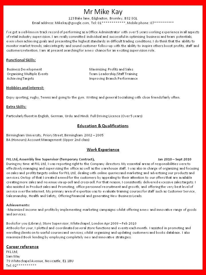 Bullet Point Resume Template Resume Cover Letter - Download Now - functional skills resume