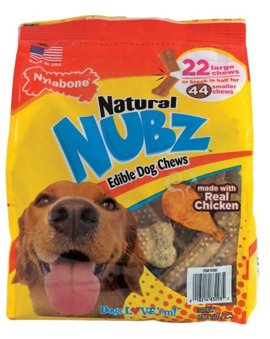 Occupy Your Dog With Delicious Natural Nubz Edible Dog Chews Made