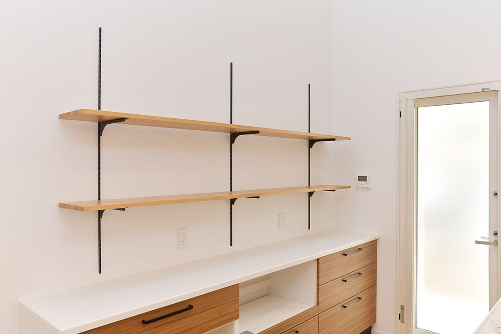 カップボード キッチン Woodone ウッドワン 無垢の木の収納 新築 新築住宅 注文住宅 住宅 施工例 注文住宅 住宅 カップボード