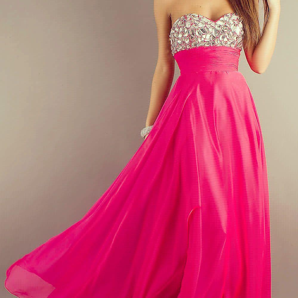 Sparkly pink dress!!!<3 | Prom | Pinterest | Rosa, Vestidos y Baile ...