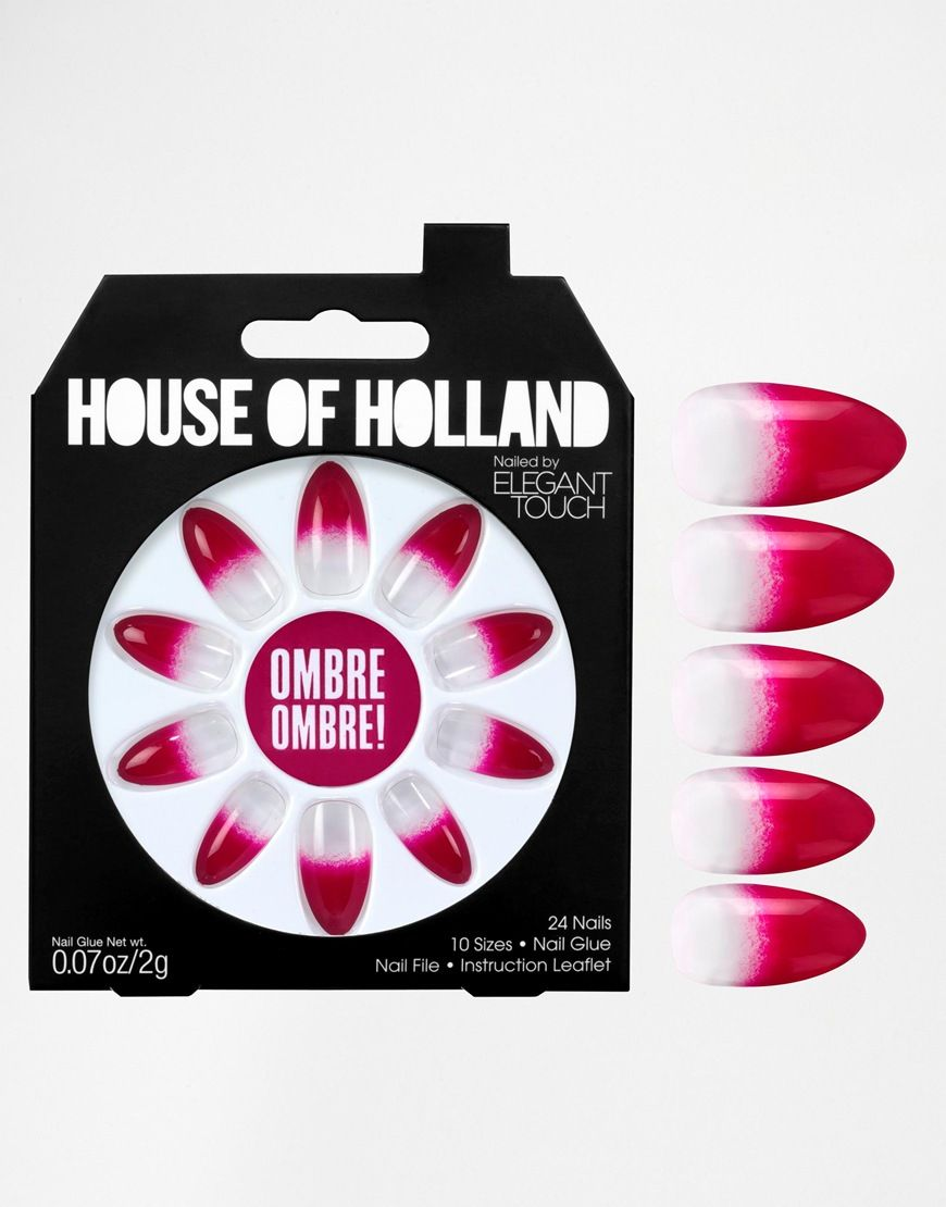 House of Holland - Nägel by Elegant Touch for Eylure Set mit 24 ...