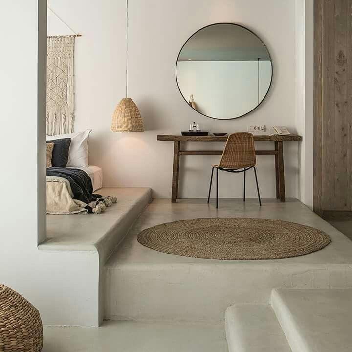 Chambre d coration naturelle id es pour la chambre pinterest maison d co maison et - Decoration naturelle maison ...