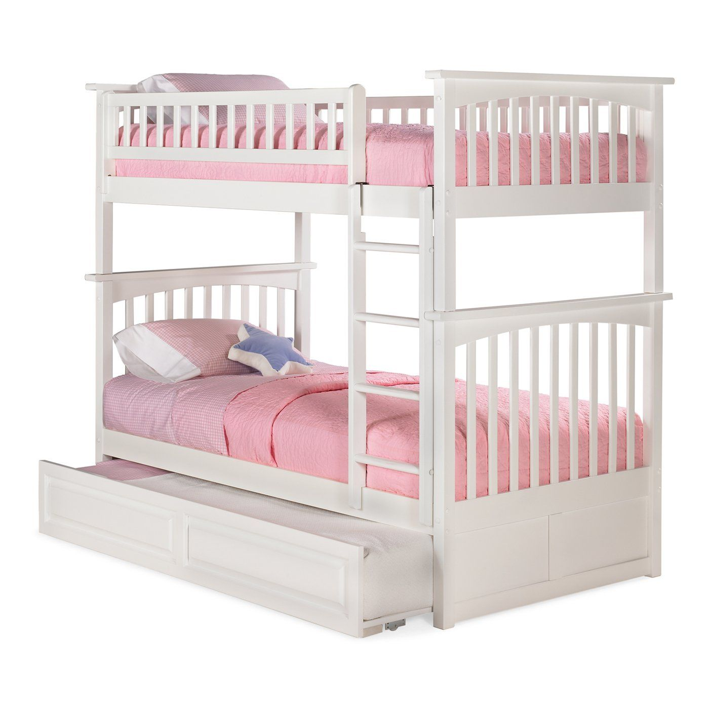 Best Atlantic Furniture Ab55 Columbia Bunk Bed With Trundle 640 x 480