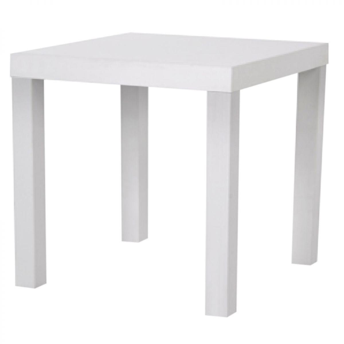 mesa canto branco
