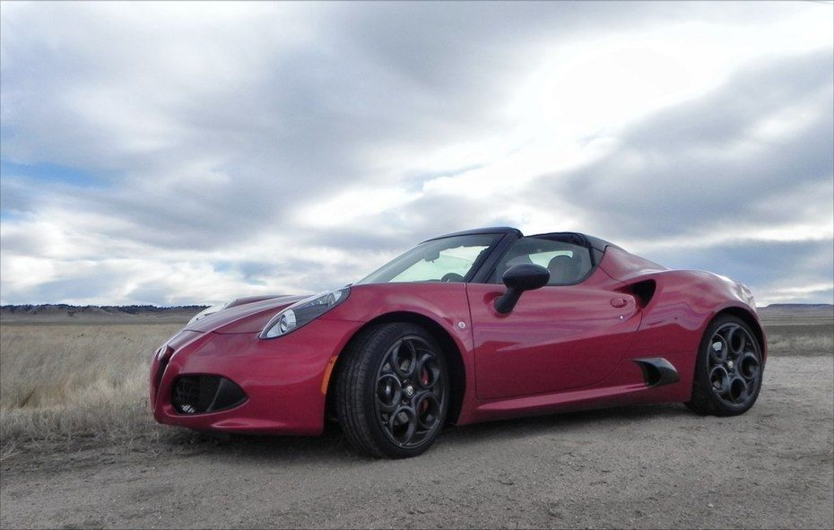The Alfa Romeo 4C and its tiny wheelbase, low-slung weight, and