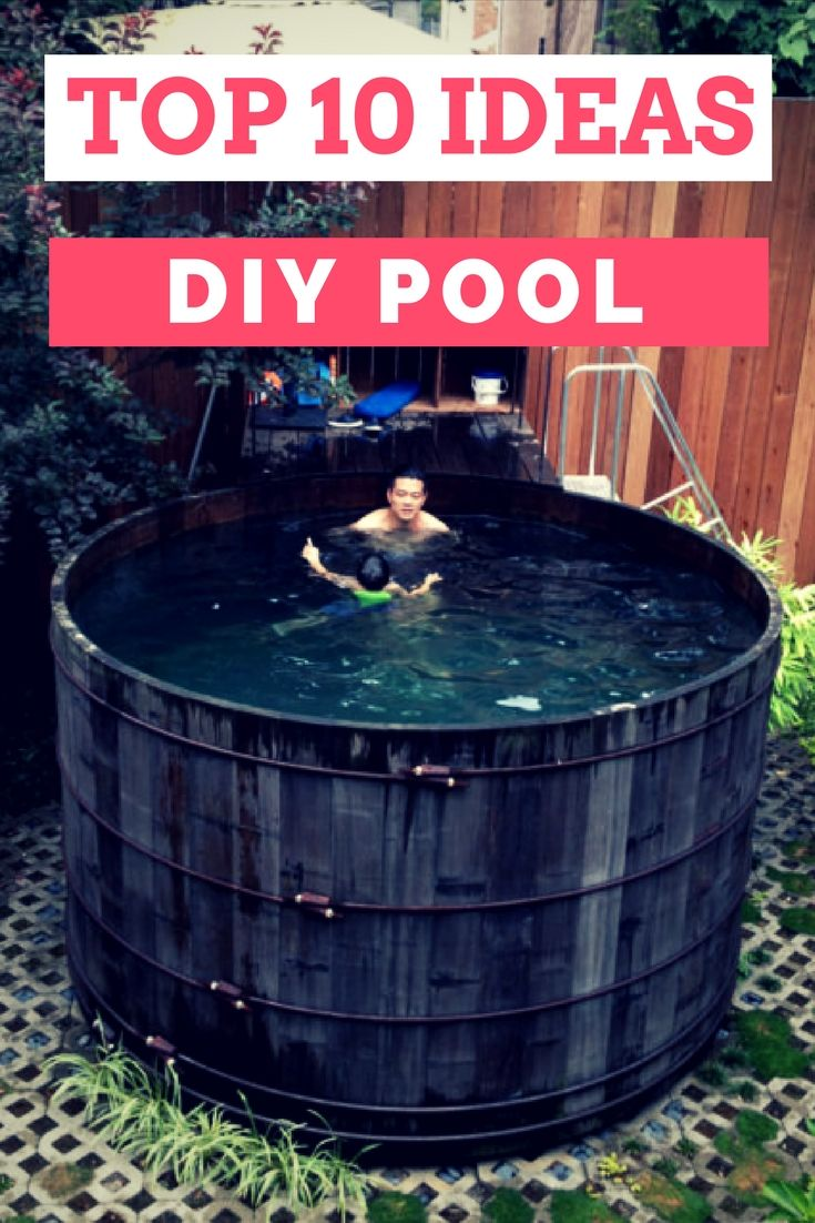 Top 10 DIY Pool Ideas And Tips   Pools U0026 Spas   Summer Comes With Its