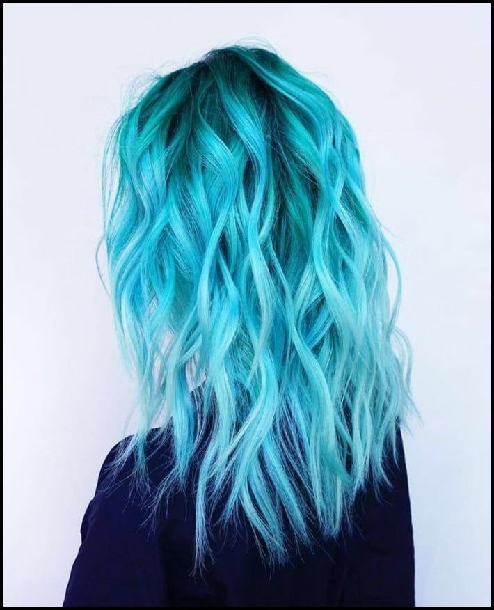 "Photo of ▷ 1001 + idee per acconciature fantastiche sul tema ""capelli blu … | – #blaue #cool …"