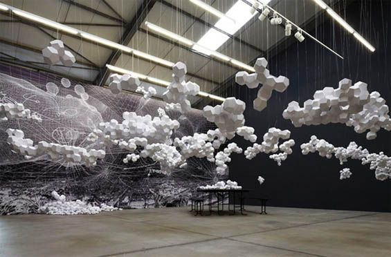 Tomas Saraceno / Cloud House