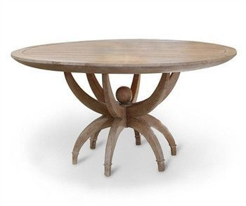 Global Views Klismos Dining Table Eclectic Dining Tables Round