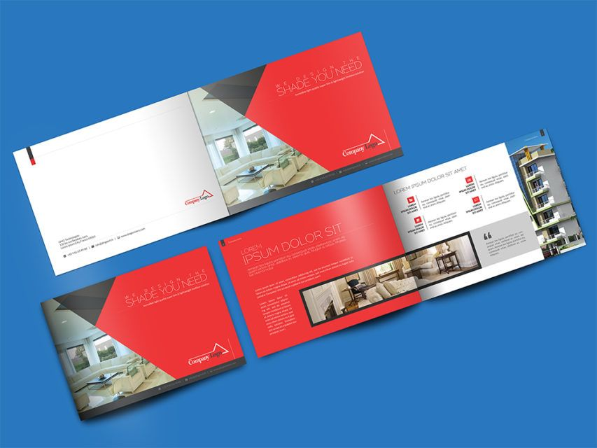 Download Landscape Brochure Mockup PSD at DownloadMockup - landscape brochure