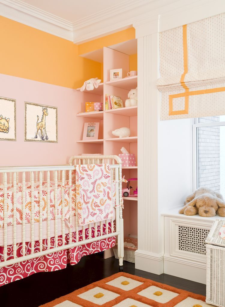 10 Calming Bedrooms With Analogous Color Schemes Orange Nursery