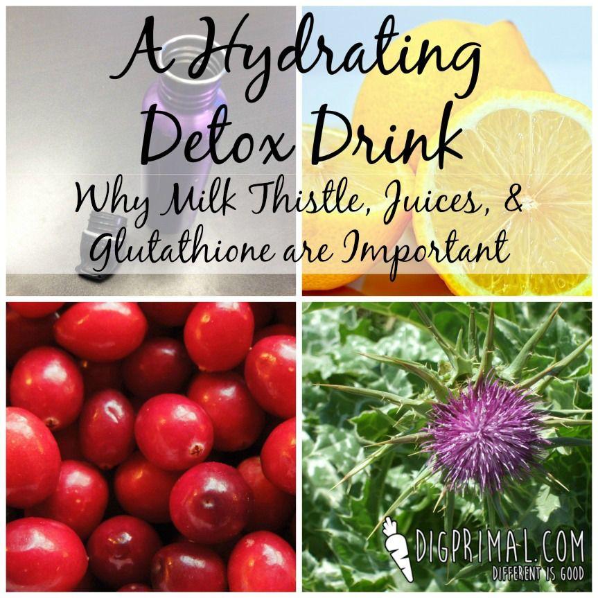 A Hydrating Detox Drink