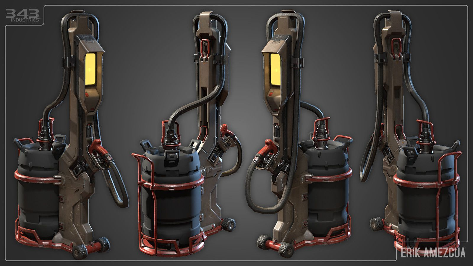 Halo 5 guardians fuel station erik amezcua on