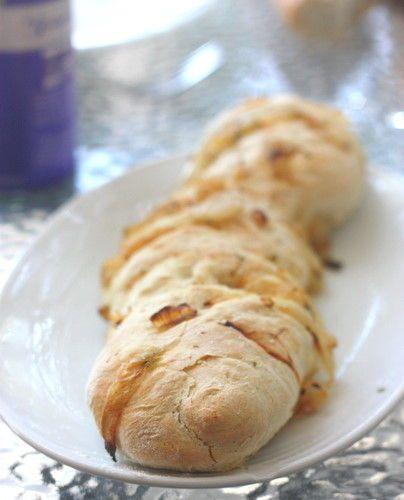 Les baguettes aux oignons de Jamie Oliver pour lapéro