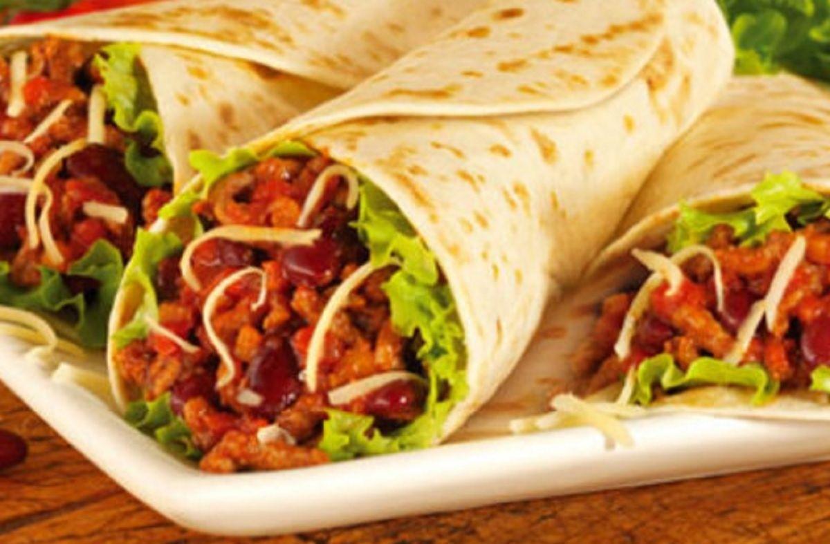 recette tacos boeuf tacos au boeuf cuits au four faciles prparer with recette tacos boeuf. Black Bedroom Furniture Sets. Home Design Ideas