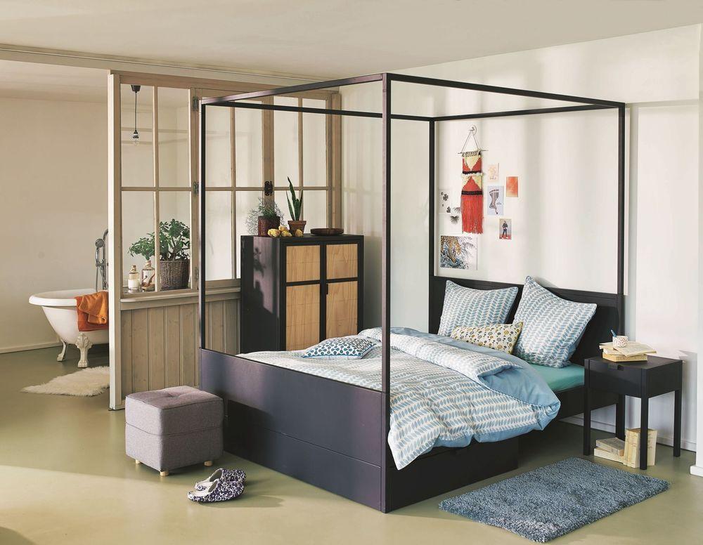 Suite Parentale Avec Salle De Bain Nos Idees Amenagement Lit Rangement Mobilier De Salon Meuble Maison