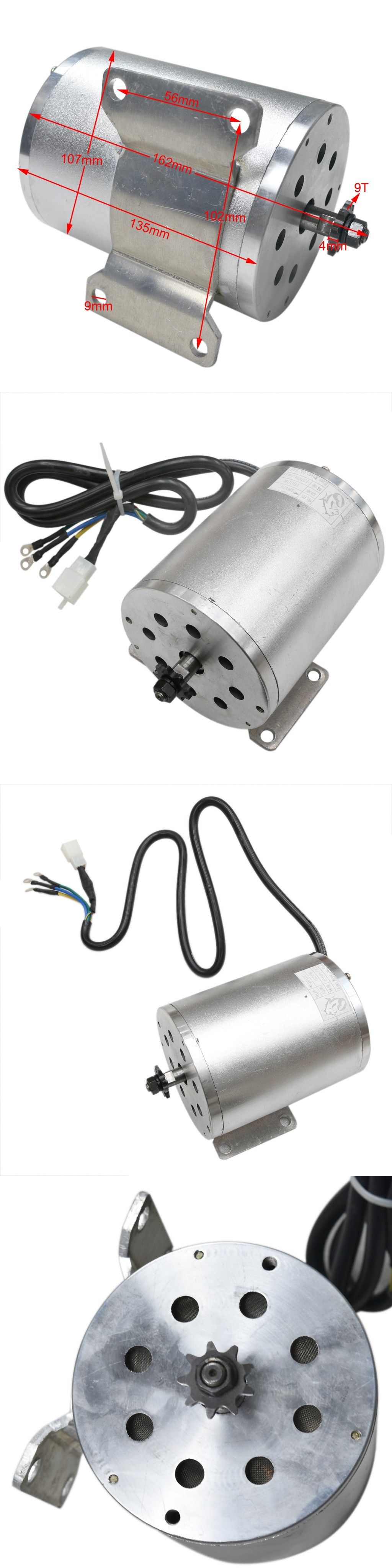 Parts and Accessories 11332: 1800W 48V Brushless Electric Dc Motor Fit E-Bike Go-Kart Quad Tdm -> BUY IT NOW ONLY: $119.9 on eBay!