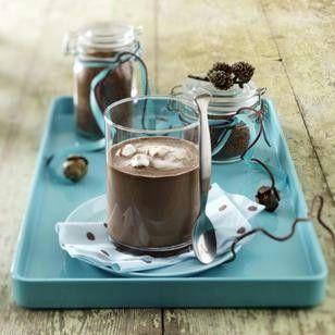 Selbstgemachter Schokoladen-Drink