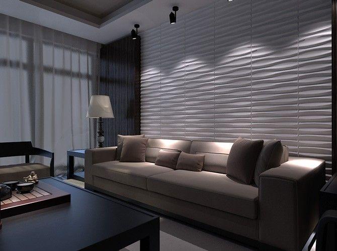 3d Wandpaneele Wanddesign Bambusplatten Brandy Home Decor Interior Design Bedroom Loft Design