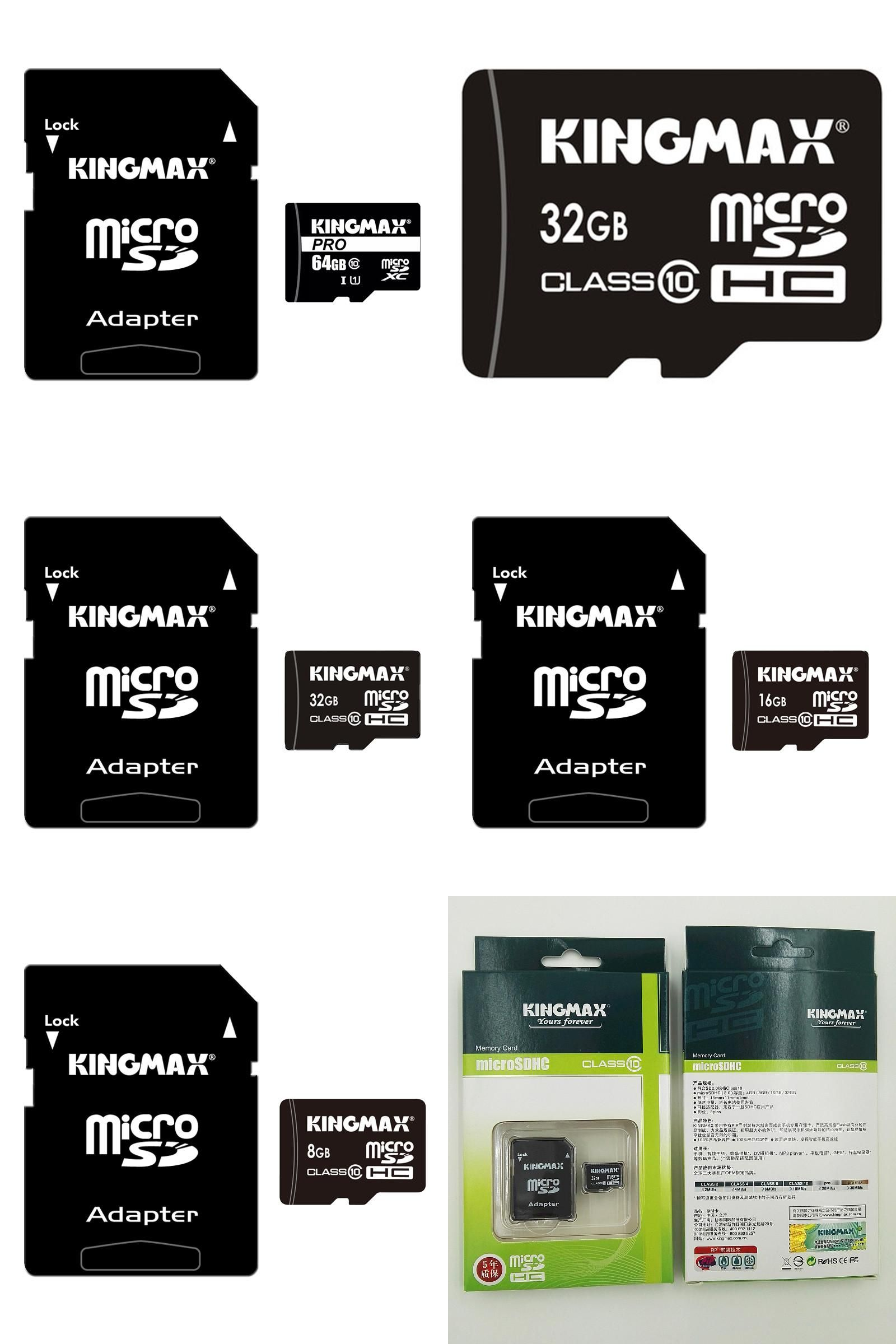 Visit to Buy] KingMax Micro SD Card Memory Card 64GB UHS-I 32GB 16GB