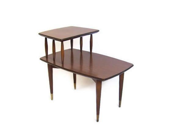 Vintage Mid Century Side Table Mid Century Modern Furniture Etsy Vintage Side Table Mid Century Side Table Side Table Wood