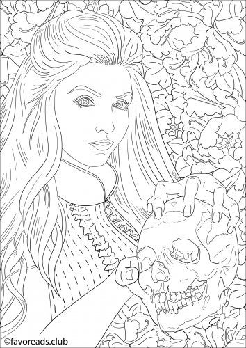 Free Printable Coloring Pages For Adults Horror Free And Adult Scary Horror Coloring Pages