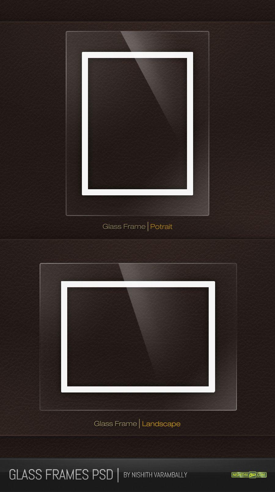 Glass Frames Psd Glass Frames Free Photo Frames Psd Free Download