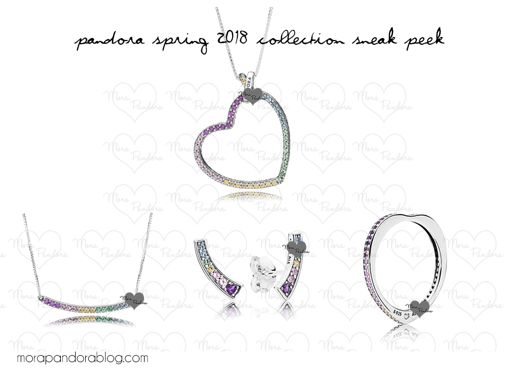 9809ecc05 Pandora Spring 2018 collection sneak peeks | pandora 2018 | Pandora ...