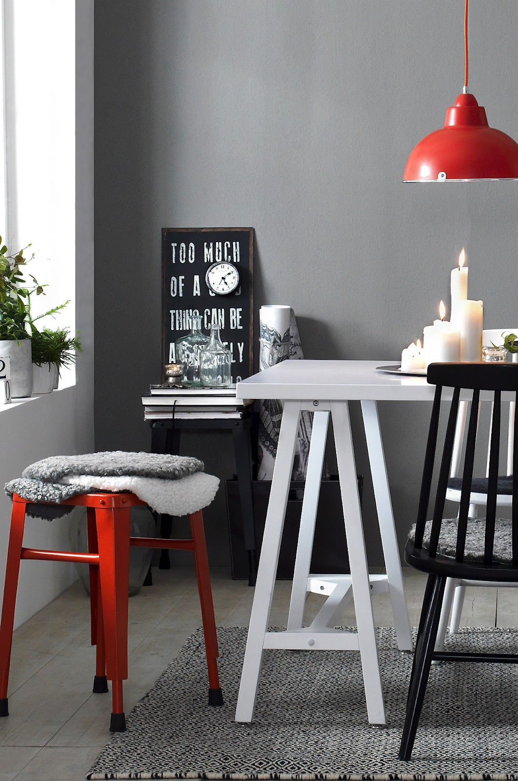 red black home office. Color Gray With Red, Black, And White Red Black Home Office