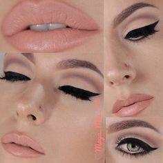 Audrey Hepburn Winged Eyeliner Tutorial | AmazingMakeups.com
