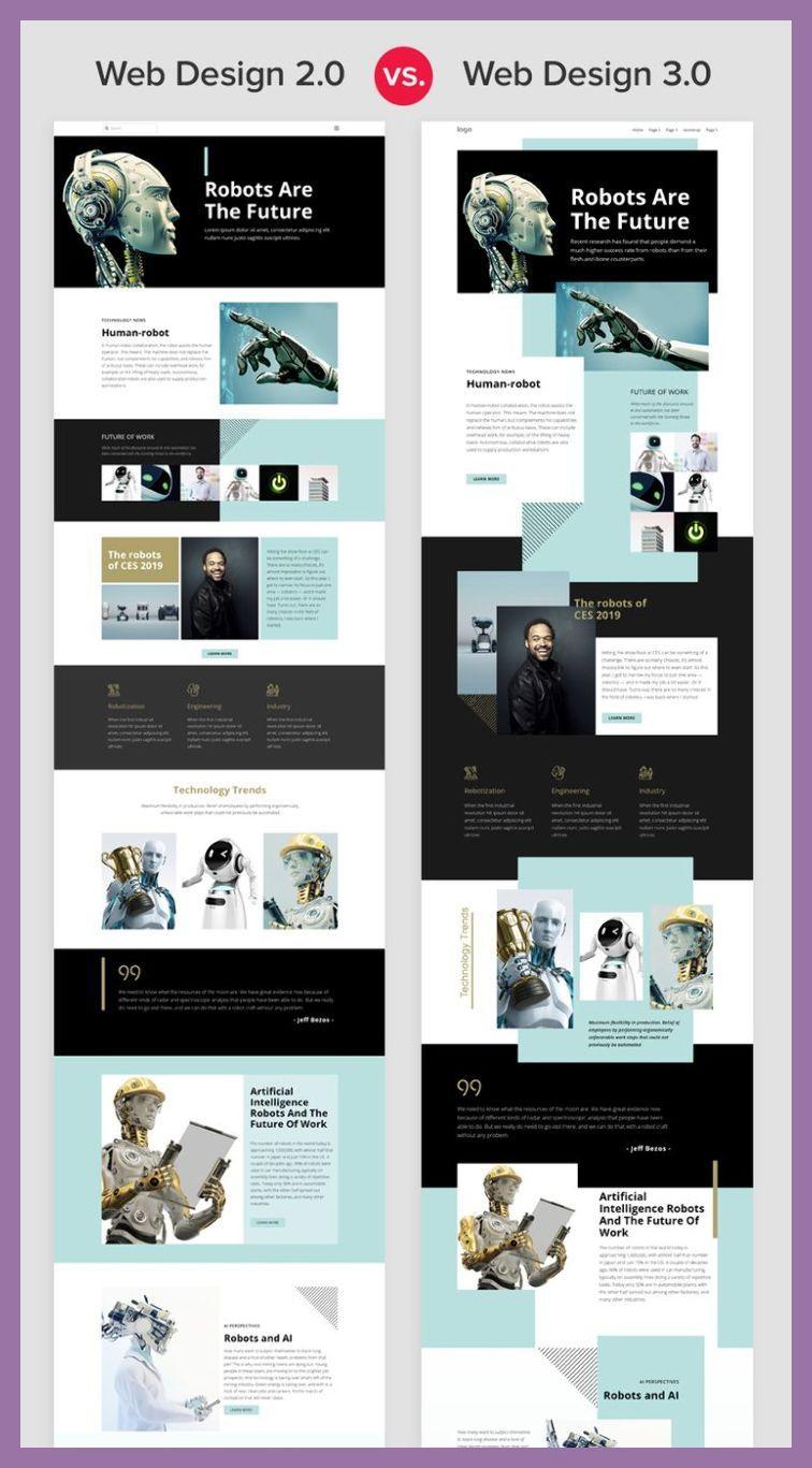 Responsive Web Design Tutorial Web Design 2 0 Vs Web Design 3 0 Responsive Web Design We Portfolio Web Design Web Design Trends Modern Web Design