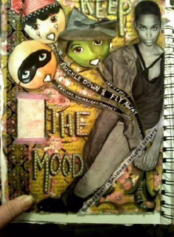 Visual Journaling - Keep The Mood