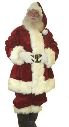 6dfe08270 Top of the line Santa Suit | SANTA!! | Santa suits, Santa outfit ...