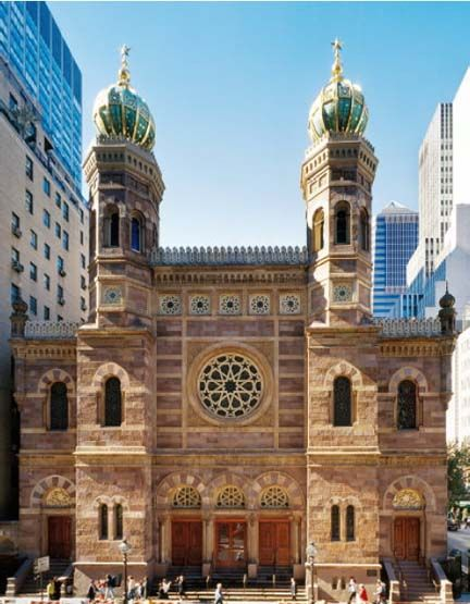 New York Architecture Images Central Synagogue New York Architecture Moorish Revival Architecture
