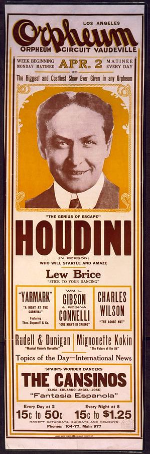 Orpheum Circuit Vaudeville Poster | Photographs, Art and Print...