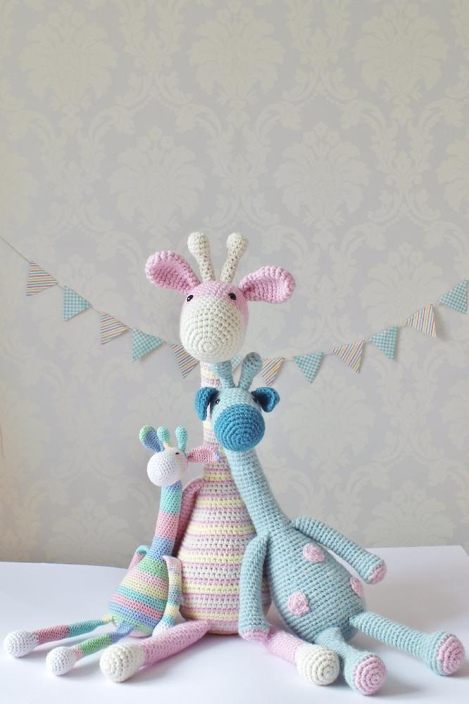 Crochet giraffe | Colores pastel, Pastelitos y Tejido