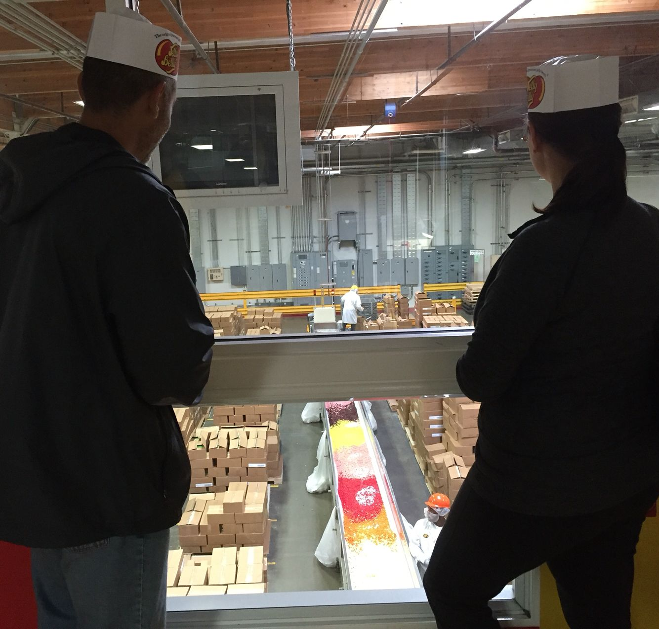Jelly belly factory tour in fairfield ca 61616with my