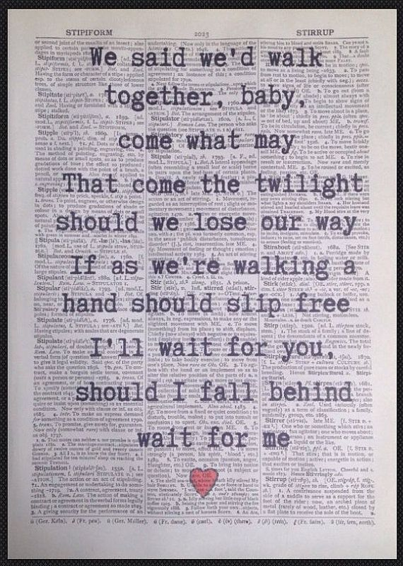 Bruce Springsteen If I Should Fall Behind Lyrics Vintage Etsy Springsteen Lyrics Vintage Dictionary Bruce Springsteen Quotes
