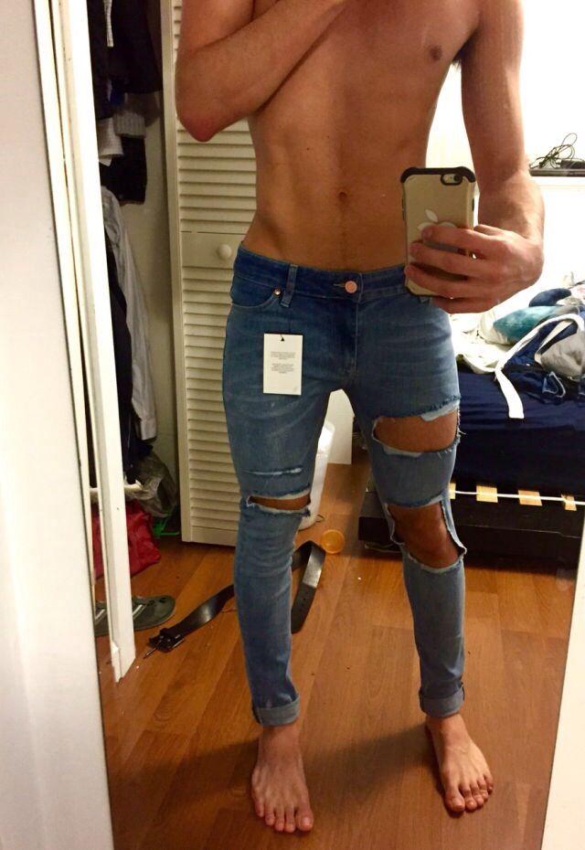 ripped jeans clothing m nner mode m nnermode herren mode. Black Bedroom Furniture Sets. Home Design Ideas