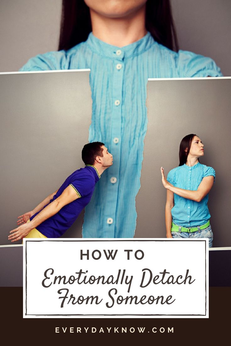 How to emotionally detach from someone marriage advice