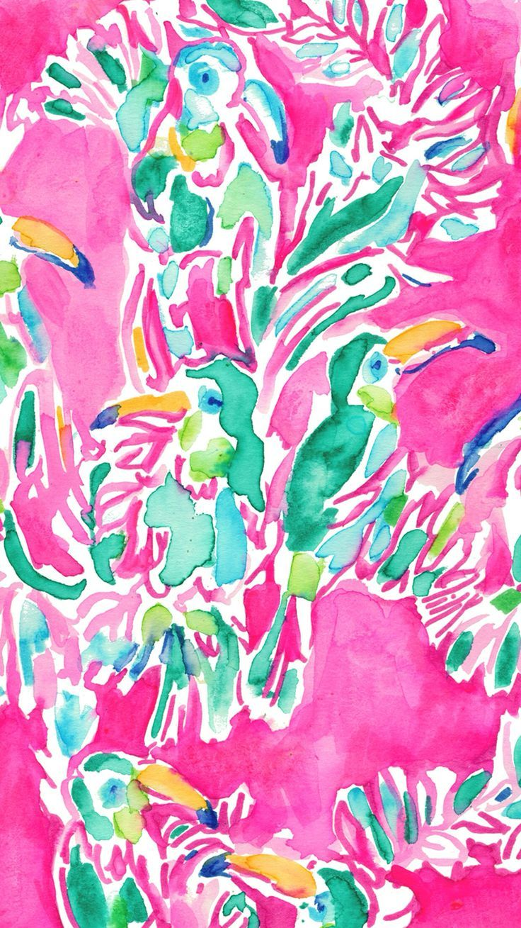 Toucan can lilly pulitzer lilly pulitzer prints - Lilly pulitzer iphone wallpaper ...