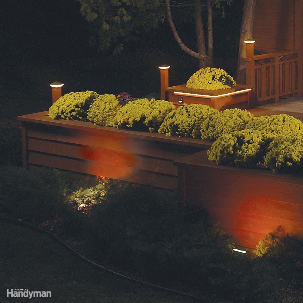 Outdoor Lighting Ideas And Options: DIY Outdoor Lighting Tips For Beginners